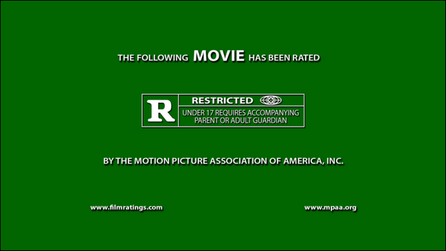 movie trailer green screen template