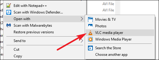 how to open a mkv file on windows 8