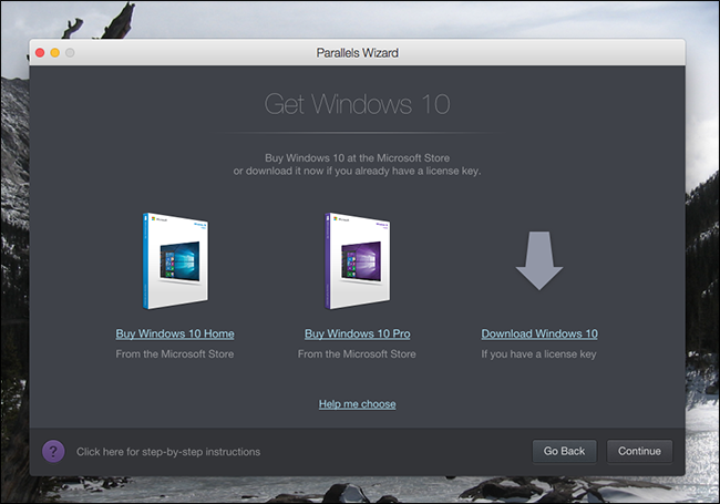 parallels desktop windows 10 license