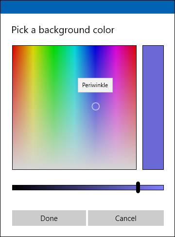 custom color picker