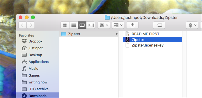 how to open zip files without admin