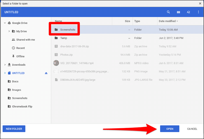 How to Change Where Screenshots Are Saved on Chromebooks