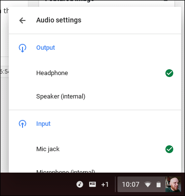 How to Change Audio Outputs on a Chromebook