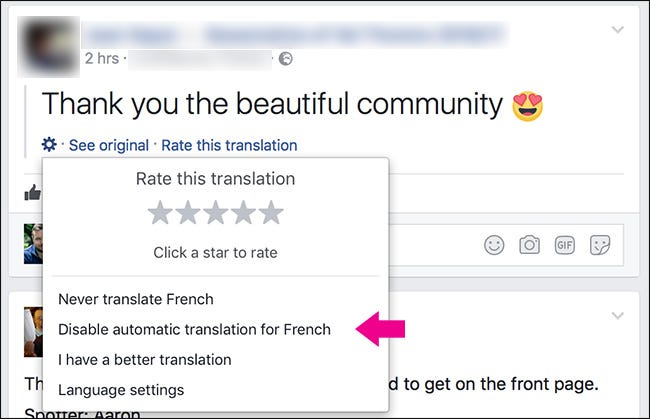 How to Stop Facebook from Automatically Translating Posts