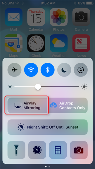 How to mirror your mac iphone or ipad screen on your for Mirror iphone to tv