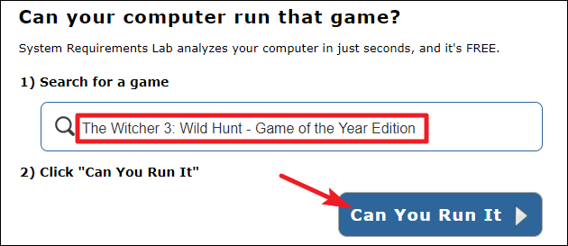 How To Check If A Computer Can Run A Game - PC Build Advisor