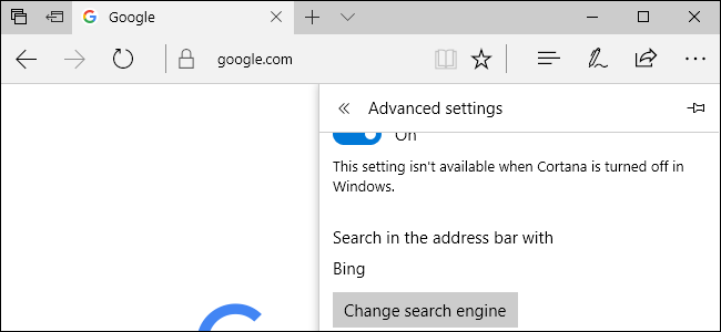How to Change Microsoft Edge to Search Google Instead of Bing