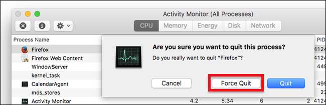 How to Force Quit Applications on Your Mac When They're Not