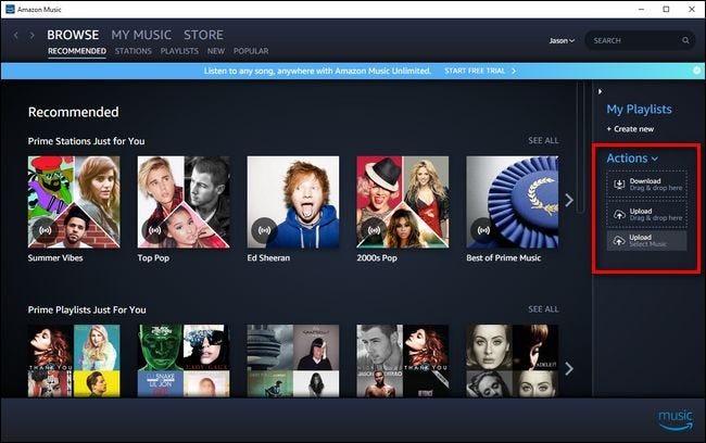 How to Upload Your Music Collection to Amazon Music (So You