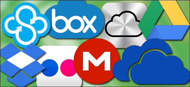all the cloud storage services that offer free storage