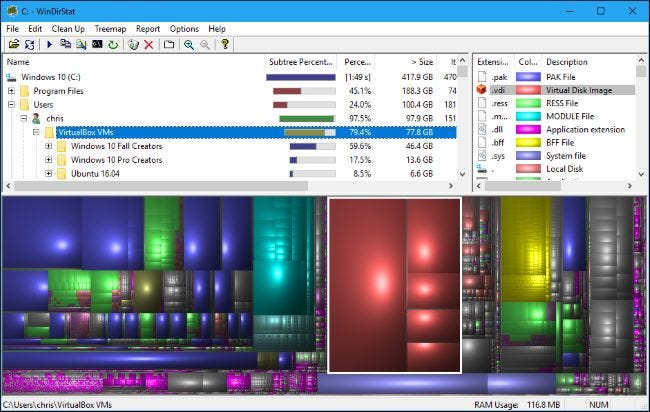 The Four Best Free Tools to Analyze Hard Drive Space on Your Windows PC