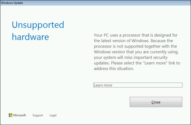 How (and Why) Microsoft Blocks Windows 7 Updates on New PCs