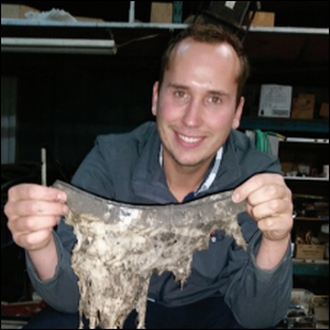 A canadian environmental group encouraged people to bury for Soil your undies