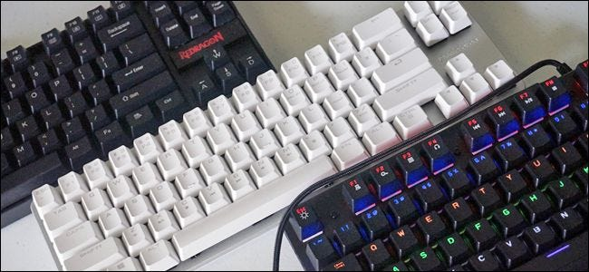 a8c4afb6e5a Mechanical keyboards are all the rage computer enthusiasts and gamers. If  you've been using a rubber dome or scissor switch keyboard for your whole  life, ...