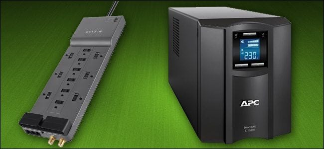 Surge Protectors vs  UPS: Do You Really Need a Battery Backup for