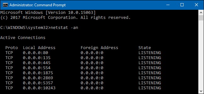 How To Check Open Tcp Ip Ports In Windows