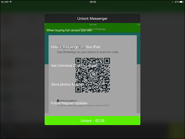 how to download whatsapp on my ipad