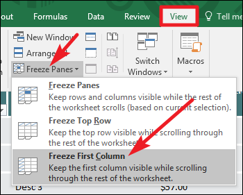 How To Freeze And Unfreeze Rows And Columns In Excel Feedbox