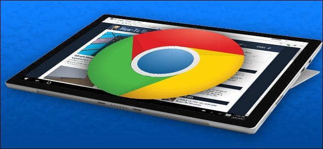 How to Make Chrome More Touch-Friendly on the Microsoft Surface