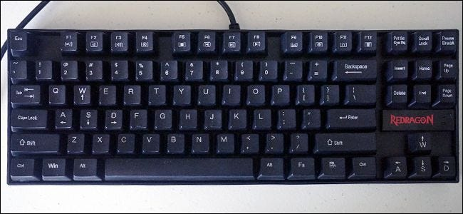 """1f8c6087ae0 Blue switches are generally preferred by typists, thanks to a low actuation  force and a loud """"click"""" with each press of the key."""