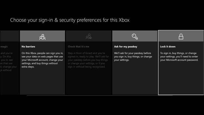 how to change microsoft password on xbox one