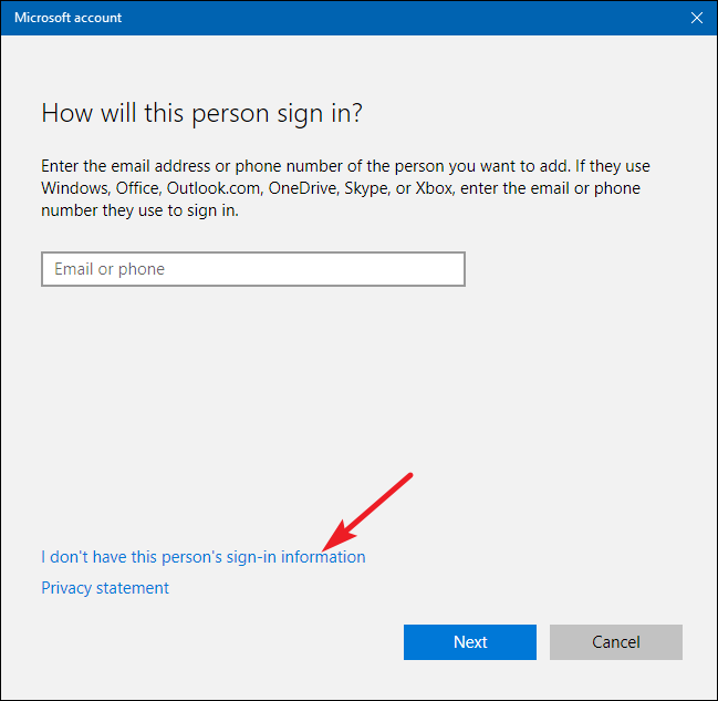 How to create a new local user account in windows 10 for New windows for your home