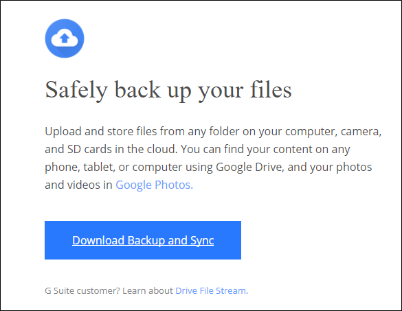 How to Sync Your Desktop PC with Google Drive (and Google Photos)