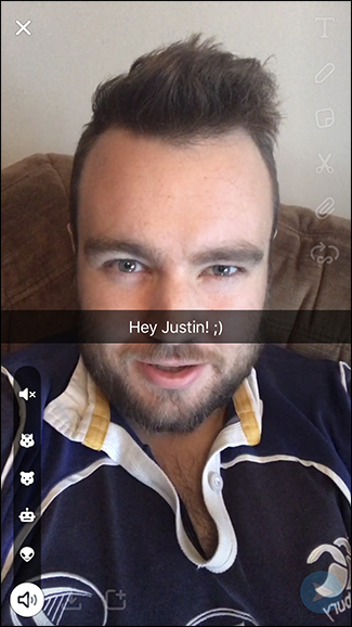 How to Add a Voice Filter to Your Video in Snapchat