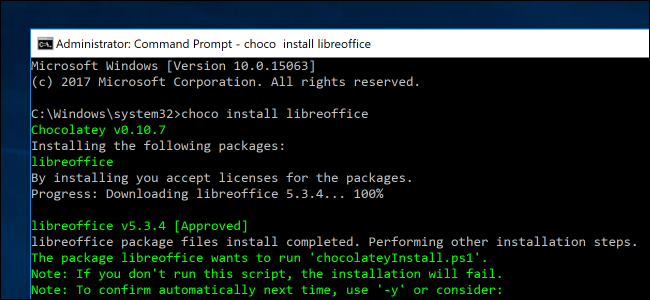 How to Bring Linux-Style apt-get Installations to Windows