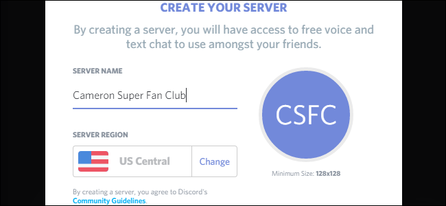 how to start a discord server