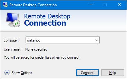 Turn on Remote Desktop in Windows 7, 8, 10, or Vista
