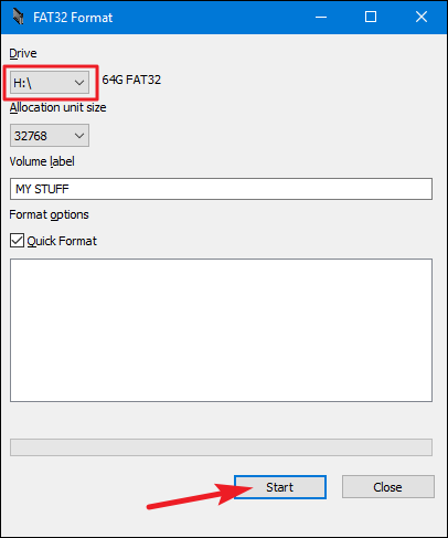 How to Format USB Drives Larger Than 32GB With FAT32 on Windows
