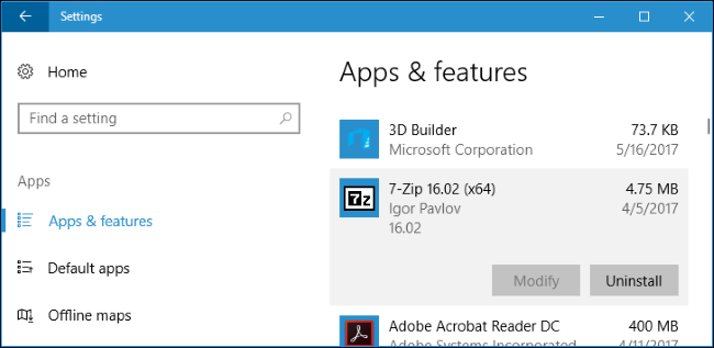 How to Install (or Move) Apps to Another Drive on Windows 10