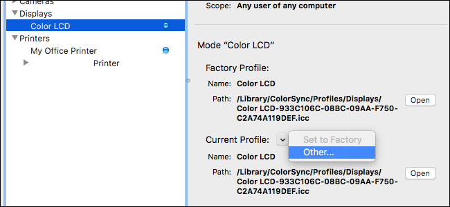 download apple rgb color profile