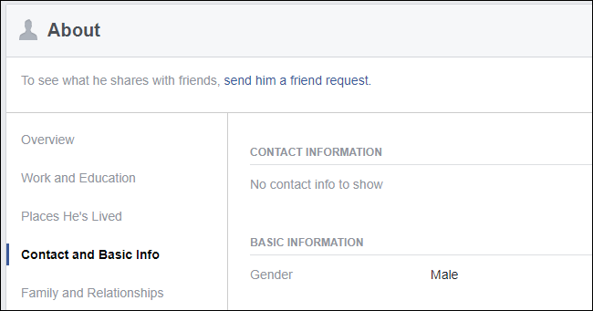 Facebook friend request button is grayed out