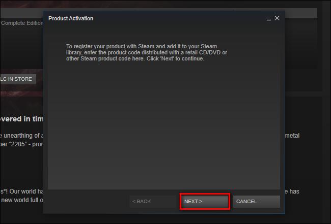 activate steam code online