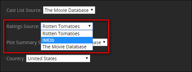 How to Add IMDB or Rotten Tomatoes Ratings to Your Plex