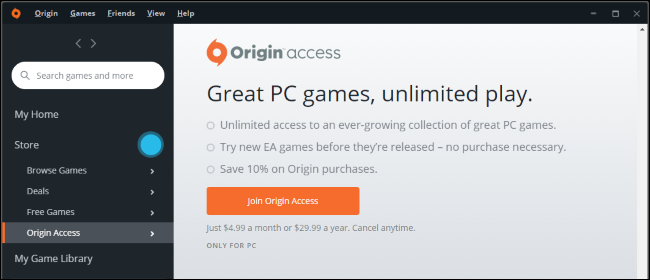 What Is EA's Origin Access, and Is It Worth It?