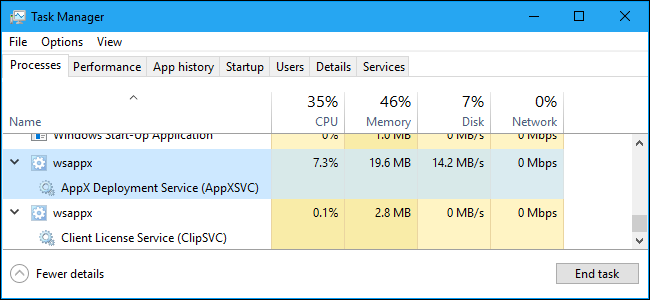 wsappx exe high cpu