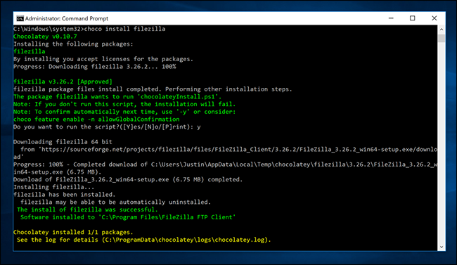 How to Bring Linux-Style apt-get Installations to Windows with
