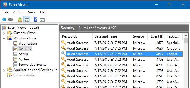 How to See Who Logged Into a Computer (and When)