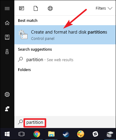 merge disk partitions windows server 2012