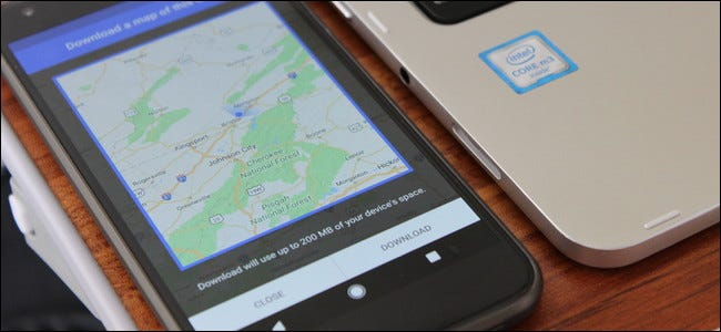 How to Download Google Maps Data for Offline Navigation on Android Download Google Map Navigation on