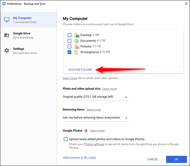 How To Sync Your Desktop Pc With Google Drive And Google Photos