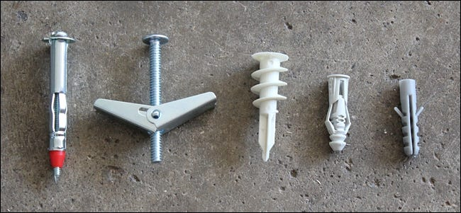 How To Install Drywall Anchors To Hang Heavy Stuff On Your Walls