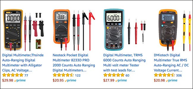 Different Types Of Multimeters : How to use a multimeter