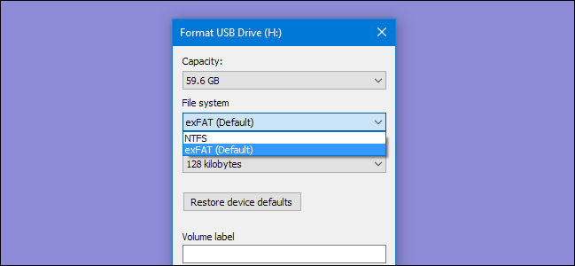 As Windows 10 format utility doesn't let you format USB drives larger than 32GB to the FAT32 file system, we need to either use the disk utility from the Command Prompt or use a third-party tool to format the USB drive to the FAT32 file system.