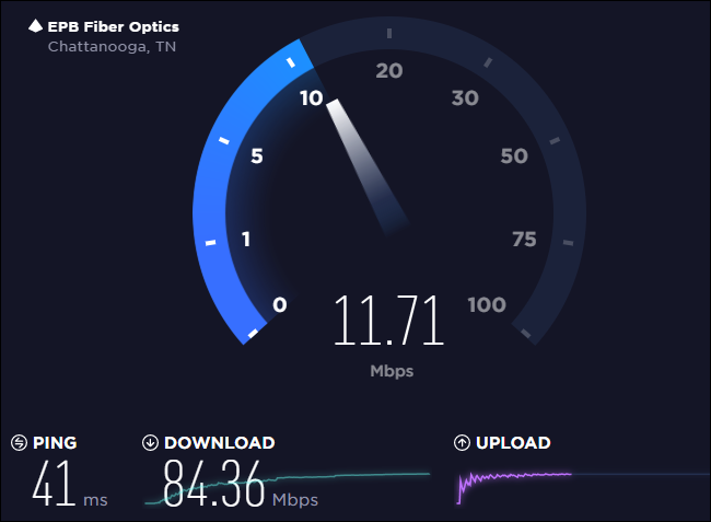 fast download slow upload speed