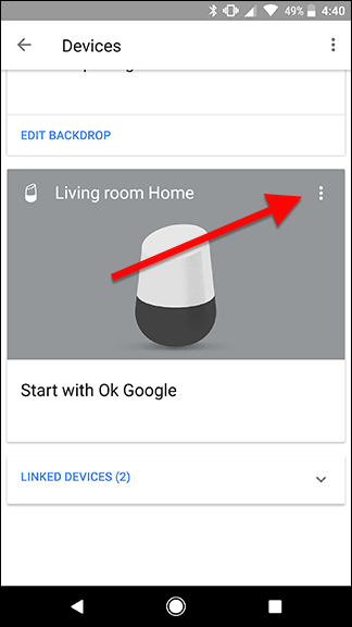 how to change the location of your google home