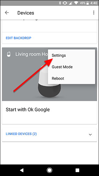 how to change your location on google home